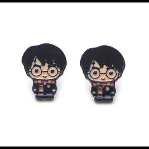 COMING SOON! Harry Potter Enamel Stud Earrings